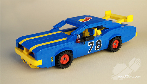 Lego Classic Space Dodge Charger