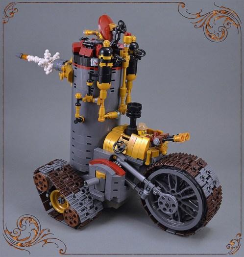 Lego Steampunk Tank
