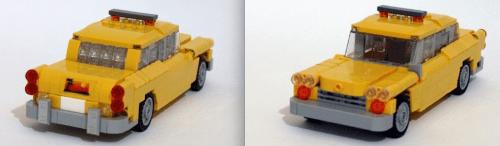 Lego Checker Cab