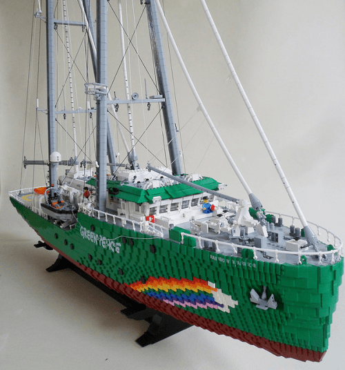 Lego Greenpeace Rainbow Warrior 3