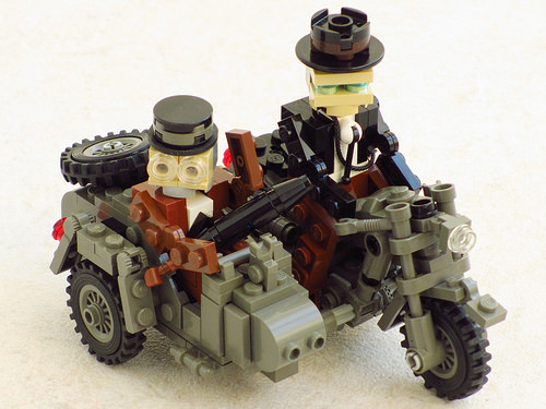 Lego Indiana Jones The Last Crusade Motorcycle
