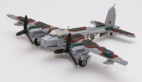 Lego De Haviland Mosquito Bomber