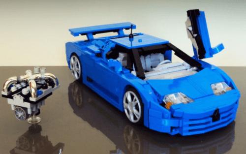 Lego Bugatti EB110 Firas Abu-Jaber