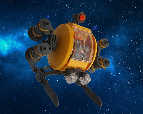 Lego Space Cheese