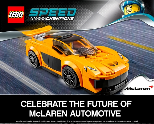 Lego Speed Champions Win!