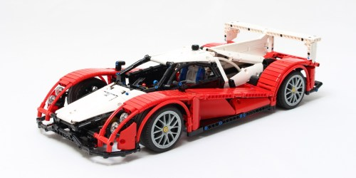 Lego Le Mans LMP1 Race Car