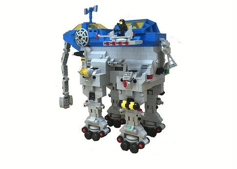 Lego Elephant Robot