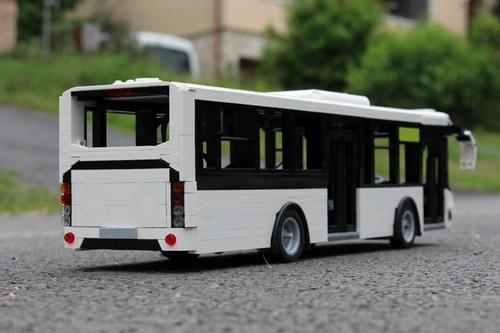 Lego remote control Bus