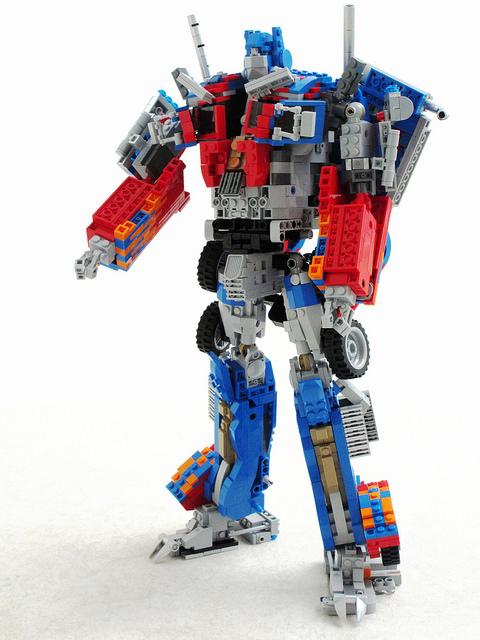 Lego Optimus Prime Robot Transformers