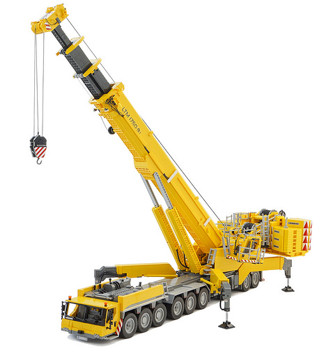 Lego RC Crane Liebherr LTM 1750-9.1