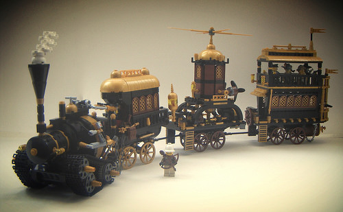 Lego Steam Punk Train