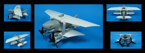 Lego Shark Plane