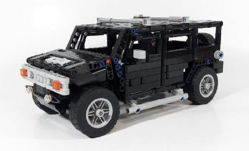 Hummer H2 Lego Technic