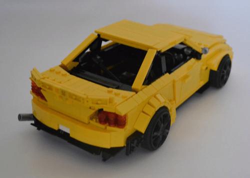 Lego Nissan Silvia Coupe