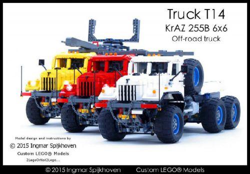 Lego KrAZ 255B Trucks