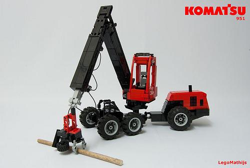 Lego Komatsu 951