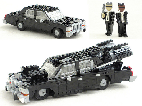 Lego Men in Black Ford P.O.S