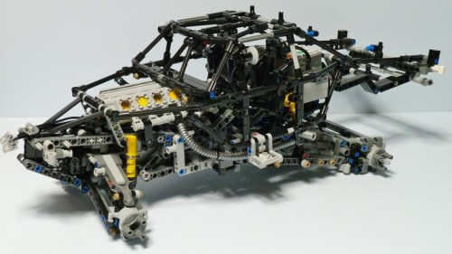 Lego Technic RC Chassis