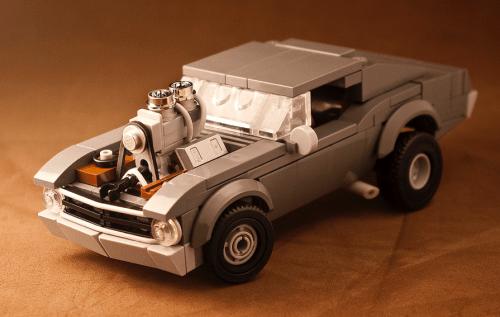 Lego Chevy Nova Drag