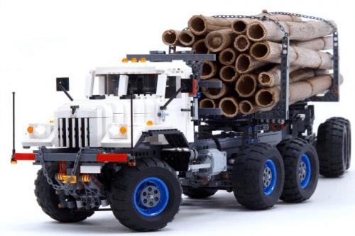 Lego Technic KrAZ Logging Truck