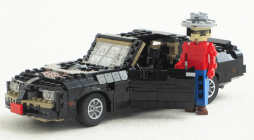 Lego Pontiac Trans-Am Smokey and the Bandi