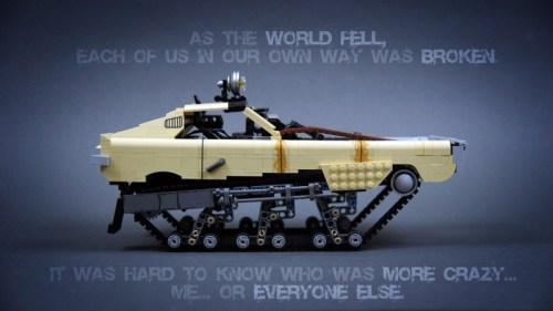 Lego Mad Max Fury Road Tank