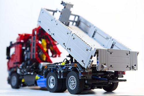 Lego Technic Mercdes-Benz Arocs Truck