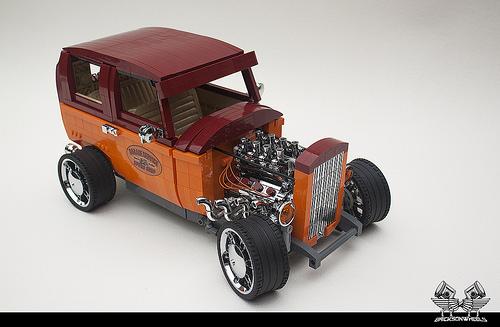 Lego Ford Tudor Hot Rod