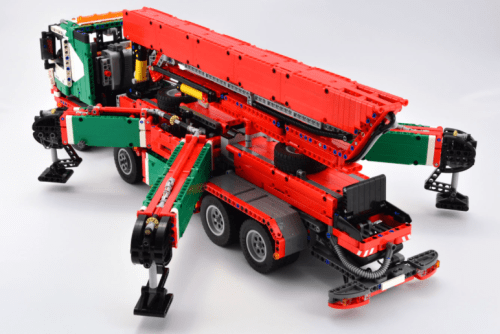 Lego Technic Mercedes-Benz Truck