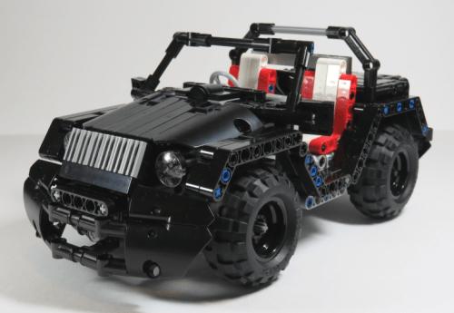 Lego Technic Jeep
