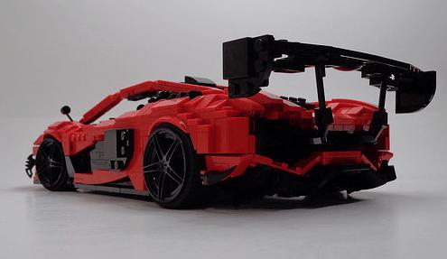 Lego McLaren Racing Car
