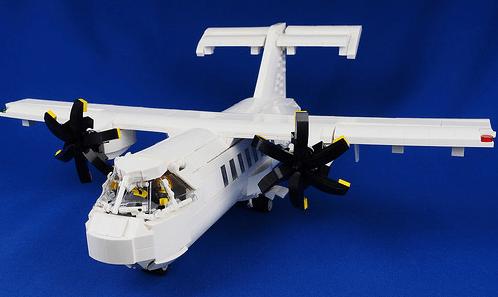 Lego ATR-42 Aircraft