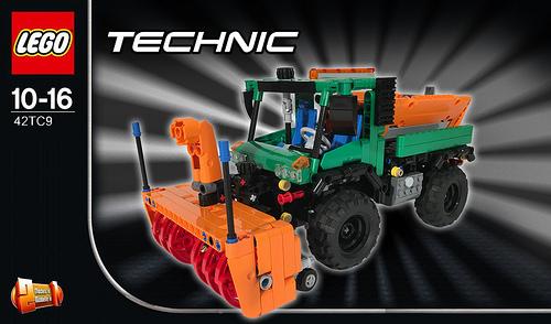 Lego Technic Unimog Snow Blower