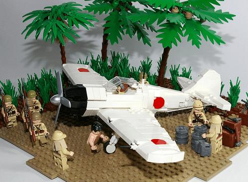 Mitsubishi A6M Zero Lego
