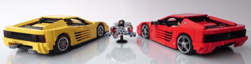 Lego Ferrari Testarossa 512