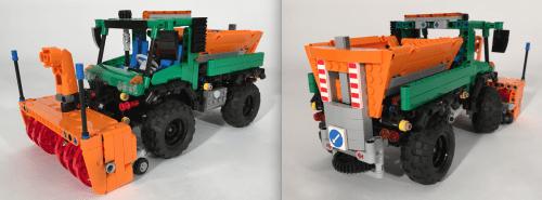 Lego Technic Snowblower