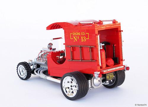 Lego Hot Rod Fire Truck