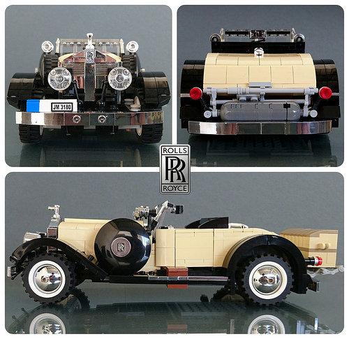 Lego Vintage Rolls Royce Playboy Roadster
