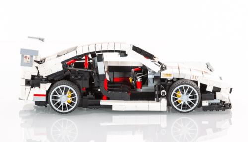 Lego Porsche 911 GT3 Inside