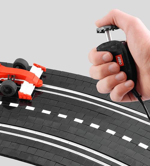Lego Scalextric Slot Racer