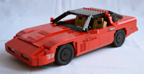 Lego Chevrolet Corvette C4