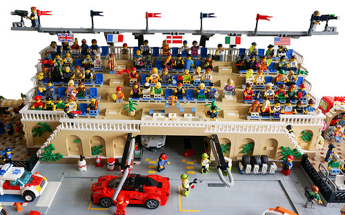 Lego City Race Track