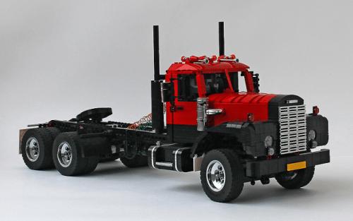 Lego Mack B75 Truck