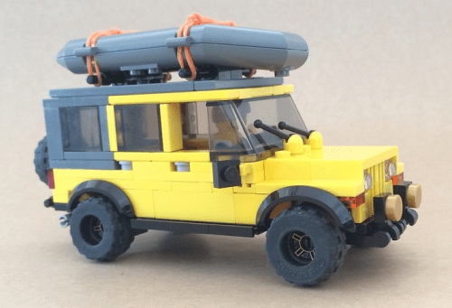 Lego Jeep Wrangler Rubicon