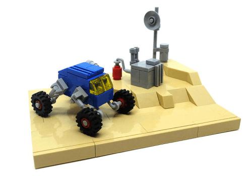 Lego Micro-scale Rover
