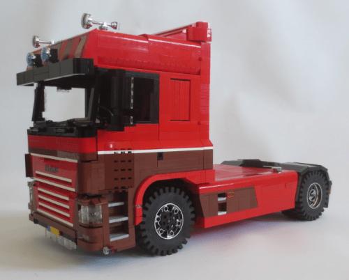 Lego DAF FT Truck