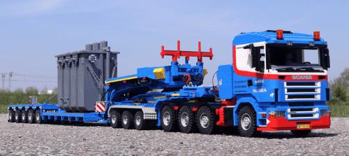 Lego Scania R500 Truck Dennis Bosman LegoTrucks