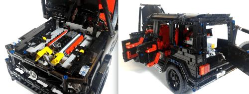 Lego Technic Mercedes-Benz G-Class G63 AMG Remote Control