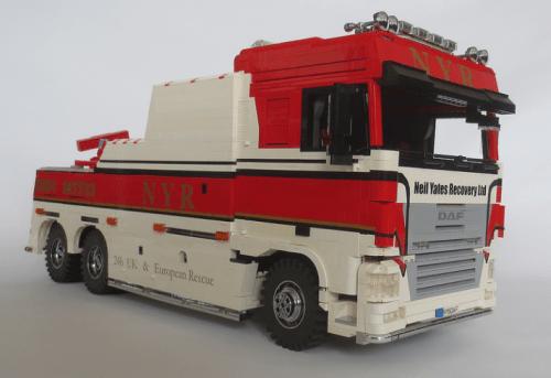 Lego DAF XF Space Cab NYR