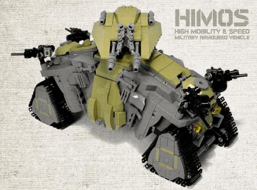 Lego Armoured Car
